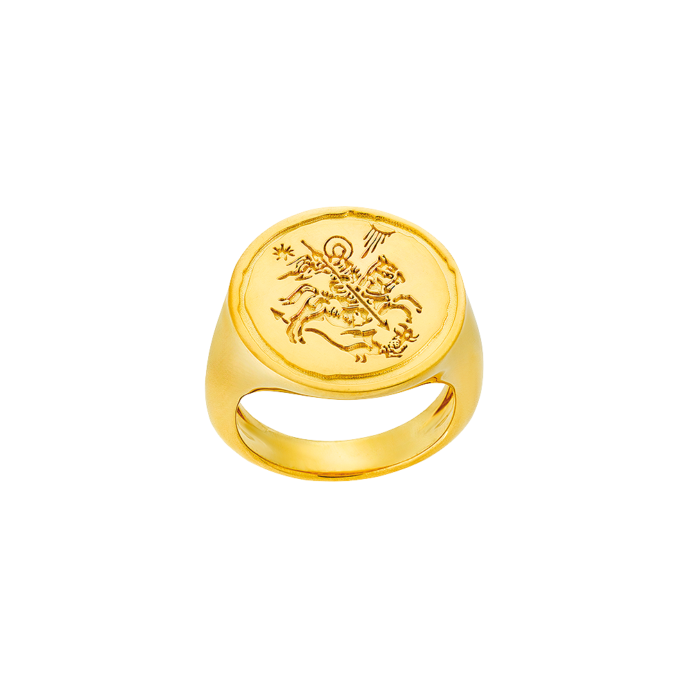 SAINT GEORGE ring