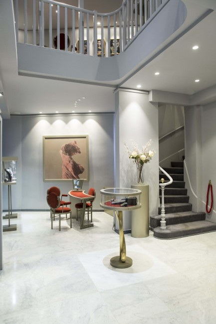 The renowned Greek jewelry House Zolotas opens its new