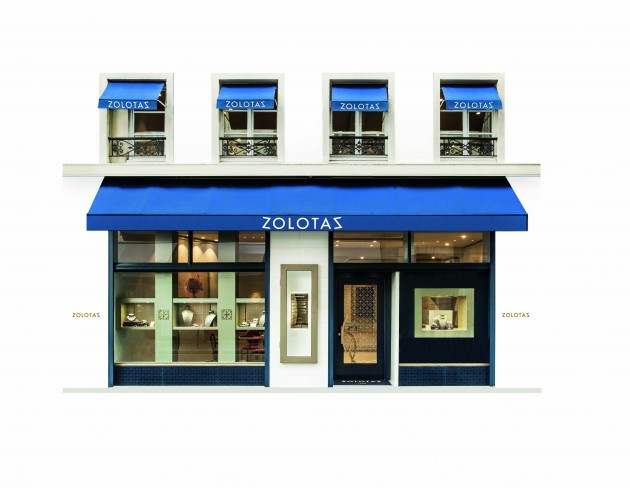 The renowned Greek jewelry House Zolotas opens its new boutique in Paris