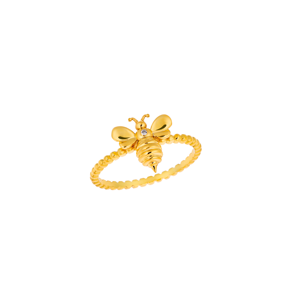 """Bee my Honey"" ring"