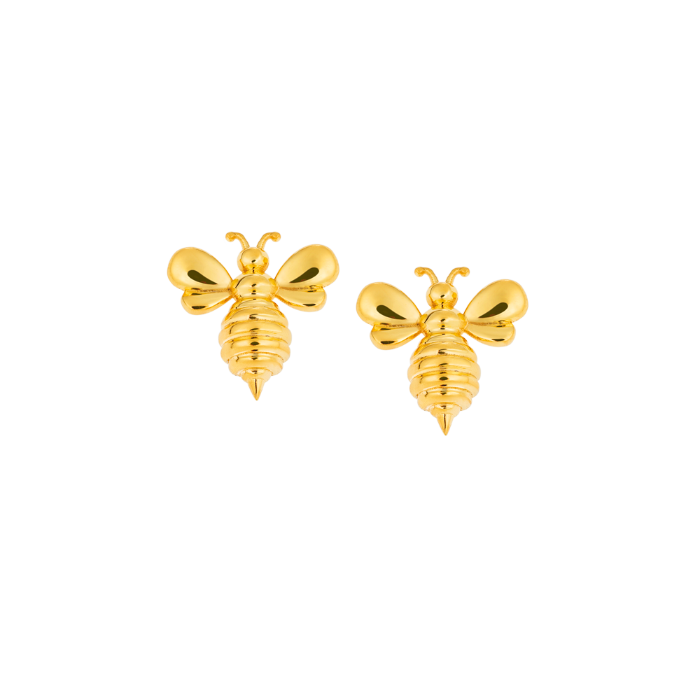 """Bee my Honey"" Earrings"