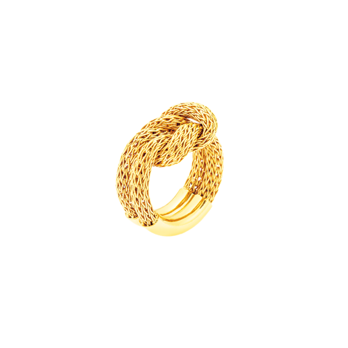 SNAKE LACE ring