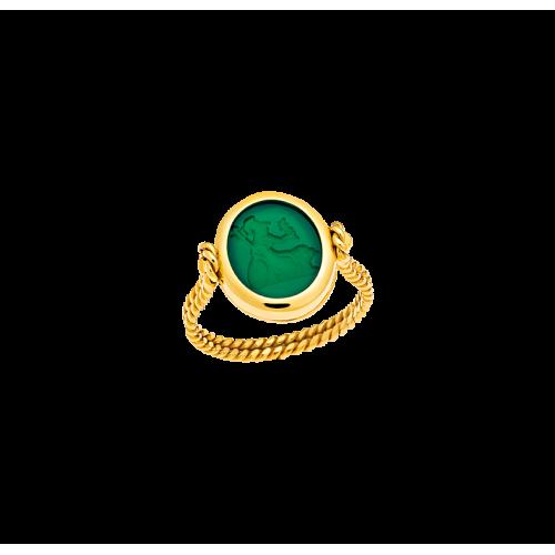 SPHINX & ATHENA ring