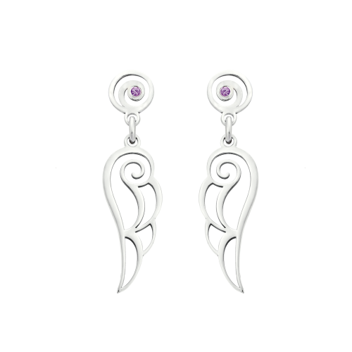 """Wings of Love"" Earrings"